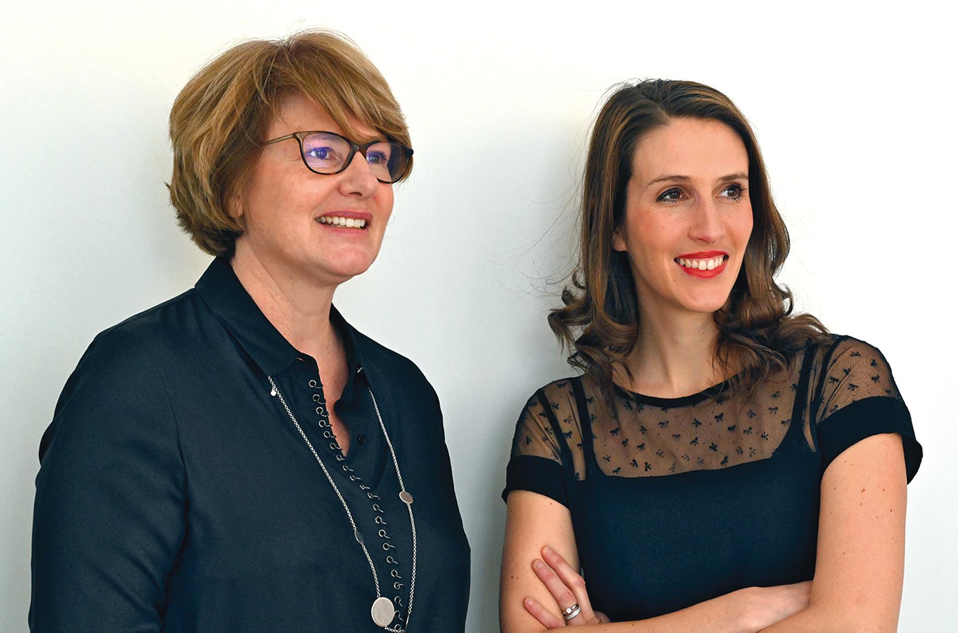Véronique Dobelle and Mylène Boché-Robinet
